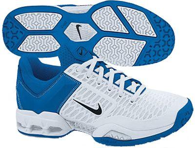 new style 0c937 cd9c1 Nike Air Max Breathe Free II Women s Tennis Shoes White Blue