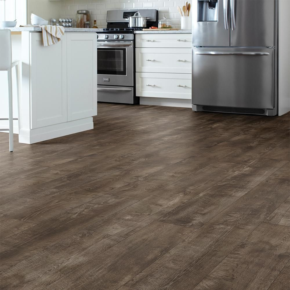 15 Stunning Gray Kitchens With Images: LifeProof Autumn Harvest Grey Oak 7.5 In. X 48 In. Luxury