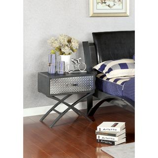 Furniture of America Liam Metal 1-drawer Youth Nightstand - Overstock™ Shopping - Great Deals on Furniture of America Kids' Storage
