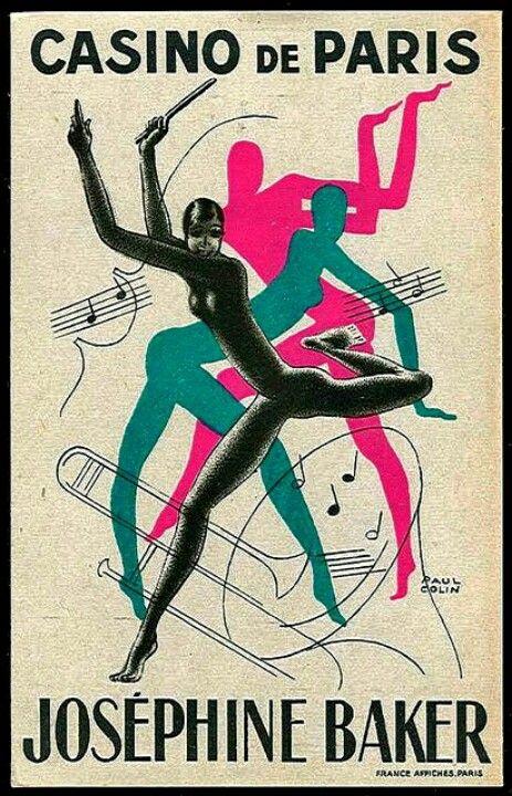 .Casino de Paris - Josephine Baker Poster http://www.onlinecasinotest.com