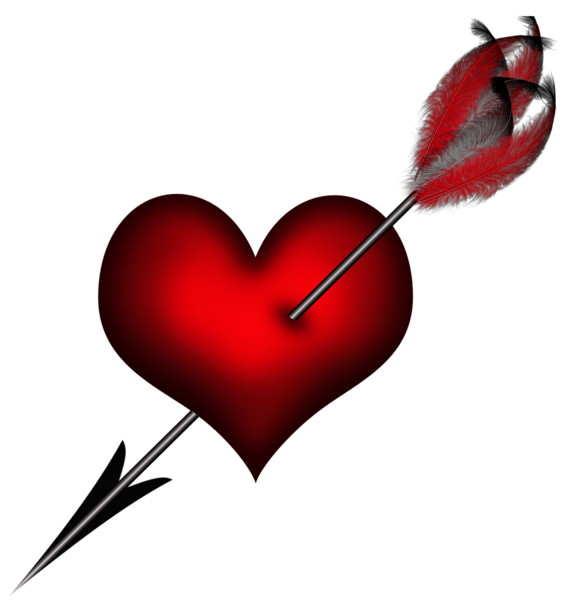 transparent heart with arrow clipart picture be mine rh pinterest com  heart with arrow through it clipart