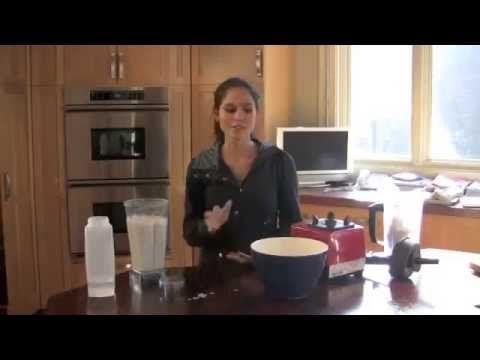 How to Make Almond Milk Recipe