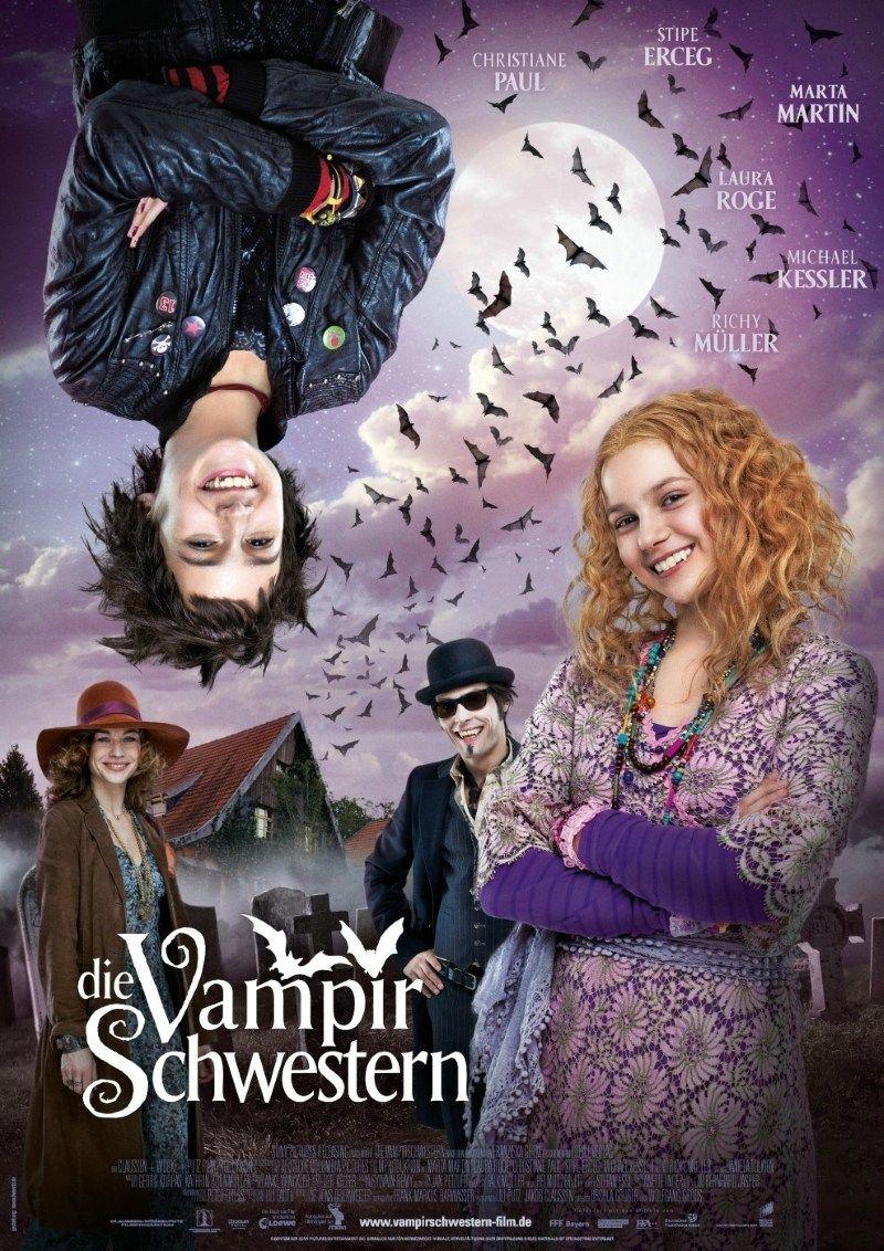 Critica Do Filme As Irmas Vampiras Die Vampirschwestern 2012 Ligado Em Viagem Filmes Antigos Da Disney Filmes Filmes De Comedia Romantica