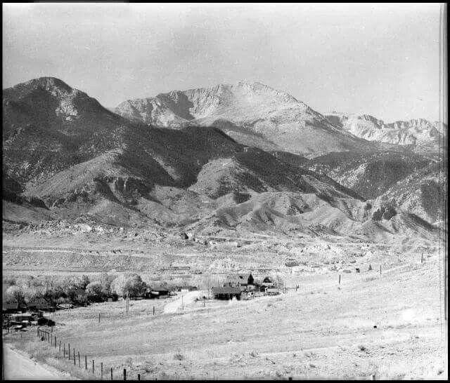 Colorado Springs Skyline, 1876