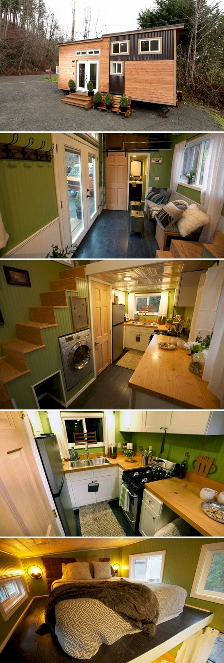 15+ Amazing Tiny Houses Design That Maximize Style and Function #house #housedesign #housedesignideas #tinyhousestorage