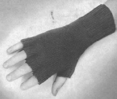 Fingerless Trigger Gloves | Men\'s Clothing, Sew, Knit, Crochet, Free ...