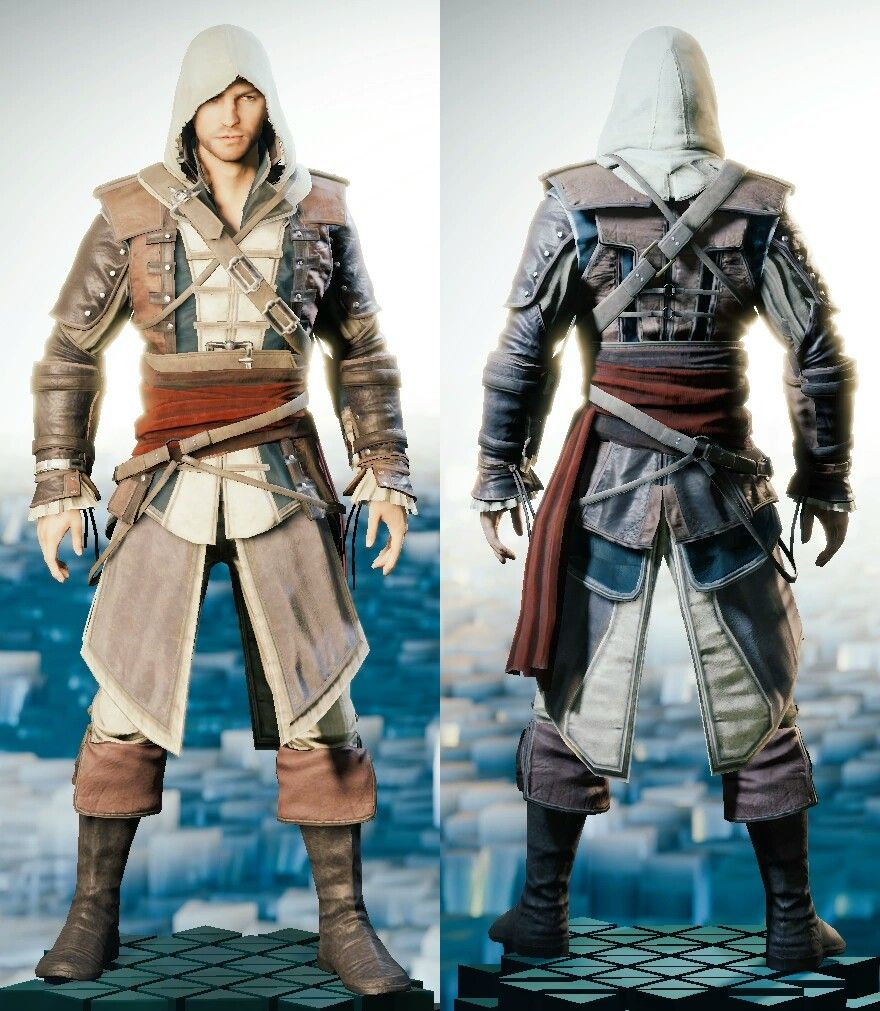 Edward Outfit Pirate Outfit Assassins Creed Outfit Assassins