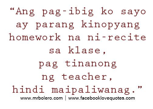 Tagalog Love Quotes – Relasyon Problem Quotes   Pinoy