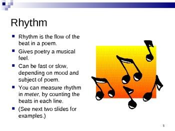Poetry 80 Slides Powerpoint Intermediate Reading Poems Ela