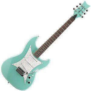 Dream Guitar: Daisy Rock-Rebel Rockit Supernova Galaxy Green [electric]