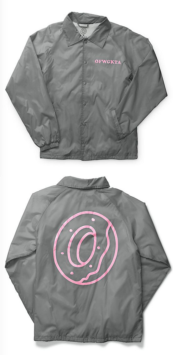 7f0b78dc4bf9 Add to your OFWGKTA style with a pink OFWGKTA left chest graphic and donut  logo on the back plus a soft fleece lining for comfort and drawstring  adjustable ...