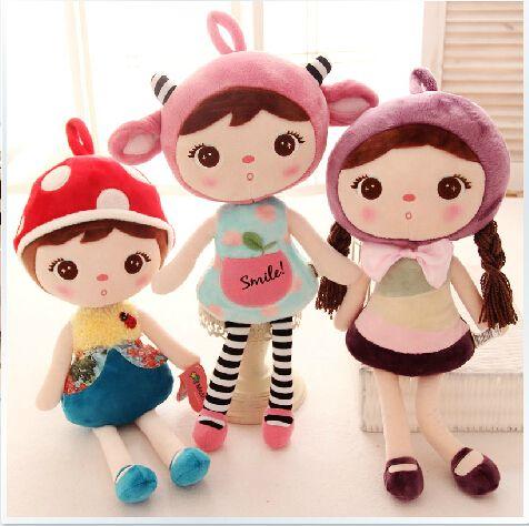 Gratis verzending 50cm originele schattig meisje prinses magische mode prinses meisje stuff pop pluche pop voor de dochter van geluk baby-(China (Mainland))
