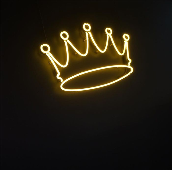 Neon Crown - The Cool Hunter Putting a crown and tiara above mine and my future husbands sides of the bed