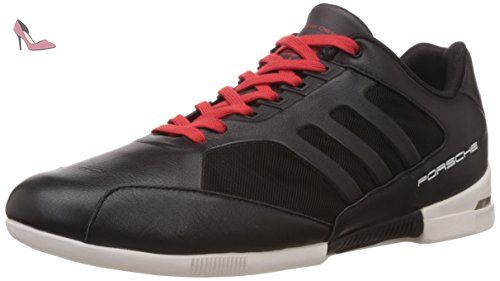 adidas 6 0. adidas porsche turbo chaussures 6,0 black/black/red - ( 6 0