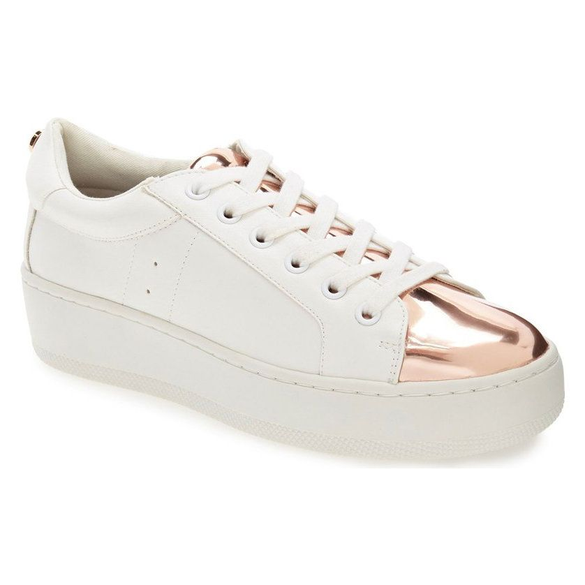 8 Rose Gold Sneakers You Can Wear with Everything