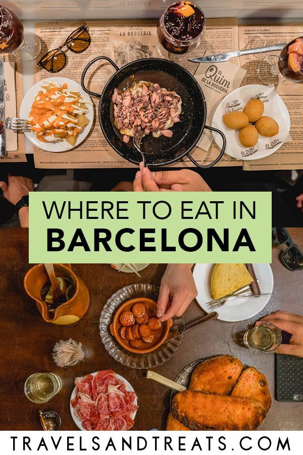 Photo of BARCELONA FOODIE GUIDE: Must-Eat Food in Barcelona