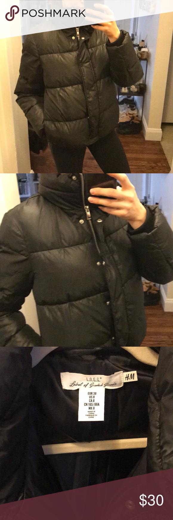 H&M puffer jacket Jackets, Puffer jackets, H&m jackets