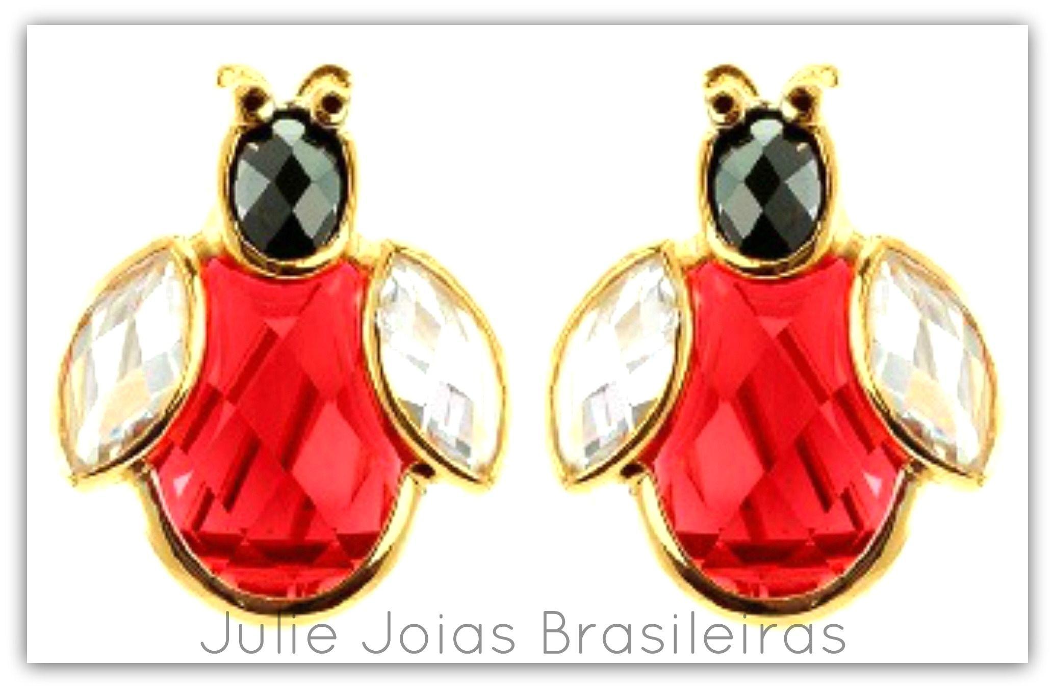 Brincos em ouro 750/18k, cristal-de-rocha, ônix e granada(750/18k gold earrings with rock crystal, onyx and grenate)