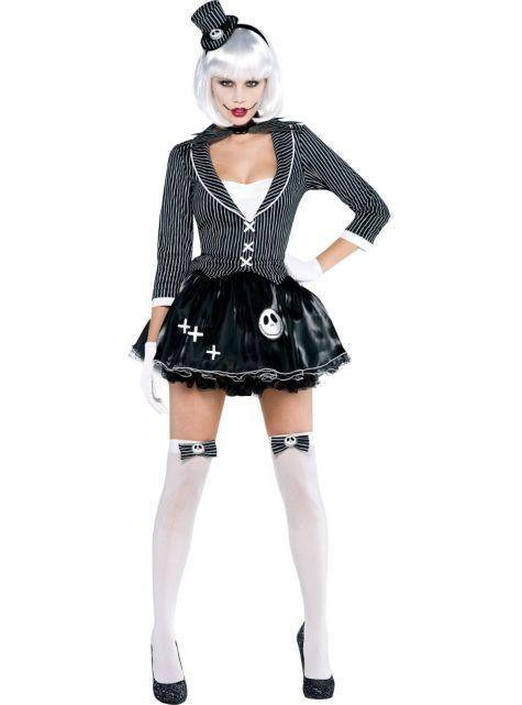 Adult Lady Jack Skellington Costume ($49.99) Nightmare Before Christmas - Party City | 4.5 stars  sc 1 st  Pinterest & Adult Lady Jack Skellington Costume ($49.99) Nightmare Before ...