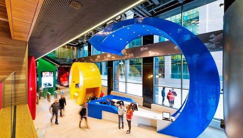 Google: Η εταιρεία με τις καλύτερες συνθήκες εργασίας στον κόσμο