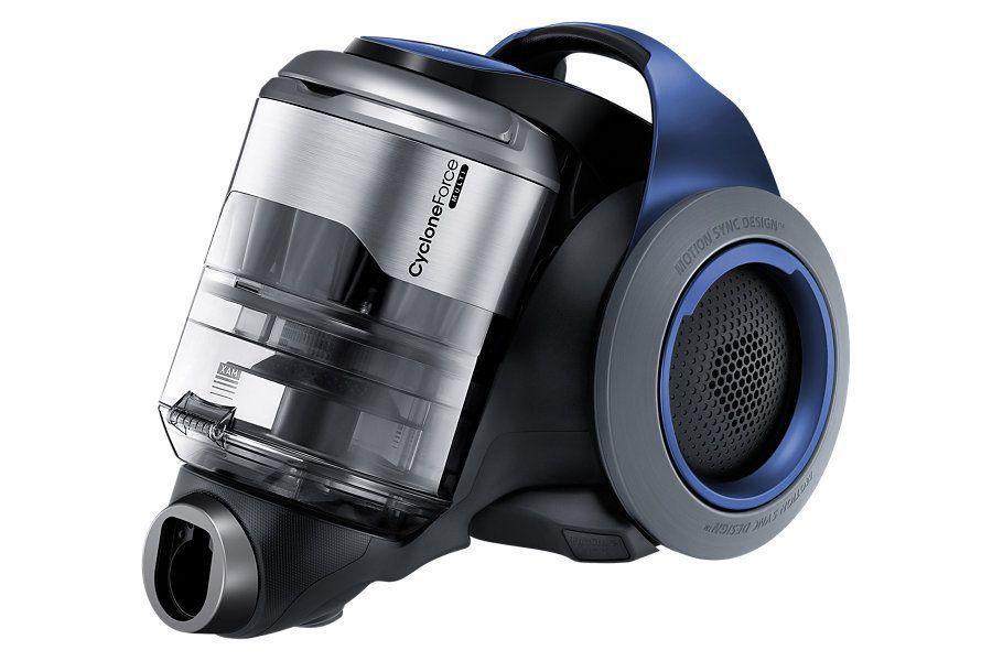 Vc33h8150lq 블루 본체 정면 왼쪽으로 45도 제품 디자인 제품 삼성