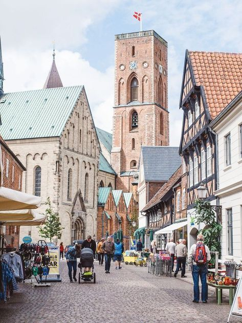 9 Beautiful Villages And Towns To Visit in Denmark.