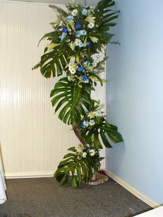 Arreglos Florales Con Pedestal Parte 2 Decoracion De