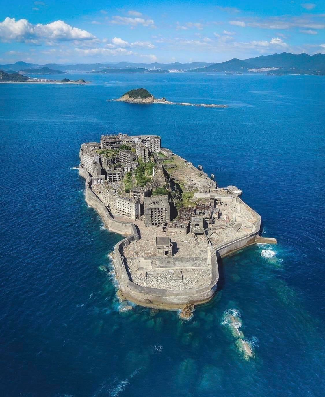 Abandoned Man Made Island In Japan