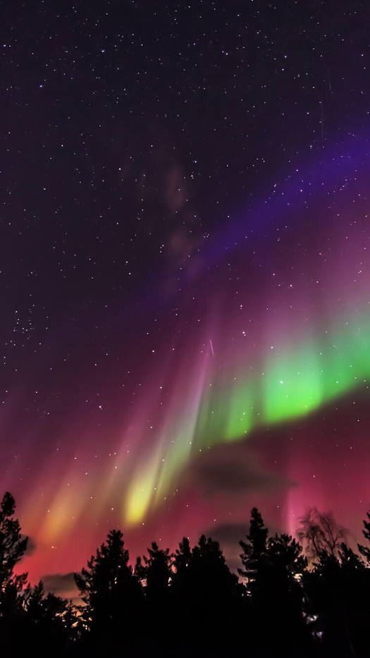 Aurora Borealis Wallpaper For Iphone And Android Best Wallpapers Android Winter Wallpaper Northern Lights