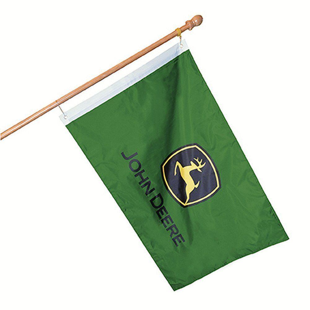 John Deere Logo Decorative Licensed Flag 28\