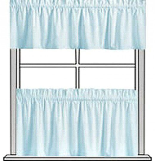 Free curtain patterns for making valances, swags, jabots, café ...