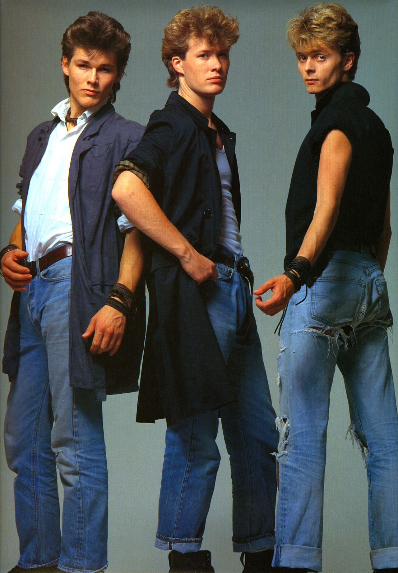 Idea By Kawazu On A Ha Handsome Faces 1980 Fashion 80s Fashion