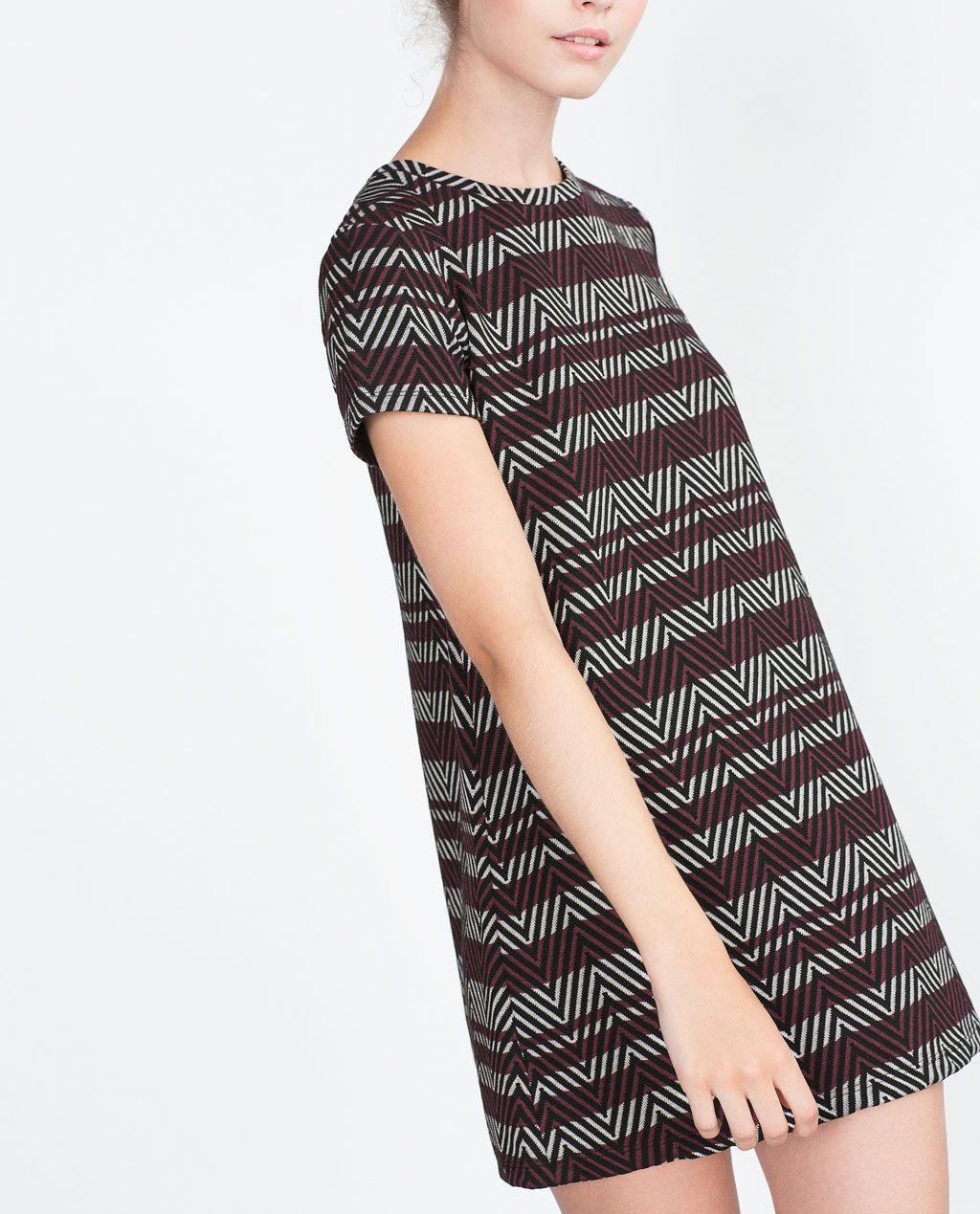 Jacquard dress mini dresses woman zara indonesia i n s p o jacquard dress mini dresses woman zara indonesia stopboris Choice Image