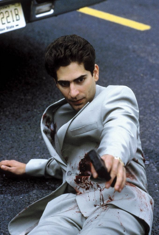 """Michael Imperioli como """"Christopher Moltisanti"""" en Los Soprano ..."""