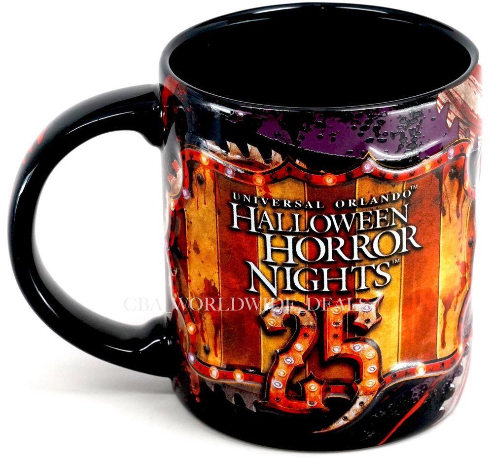 Halloween Horror Nights 2020 Travel Tumbler Lids New Universal Orlando Halloween Horror Nights HHN 25 Jack Clown