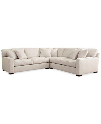 Kelly Ripa Home Ampton Sectional   Custom Colors, Only At Macyu0027s   Chairs U0026  Recliners   Furniture   Macyu0027s