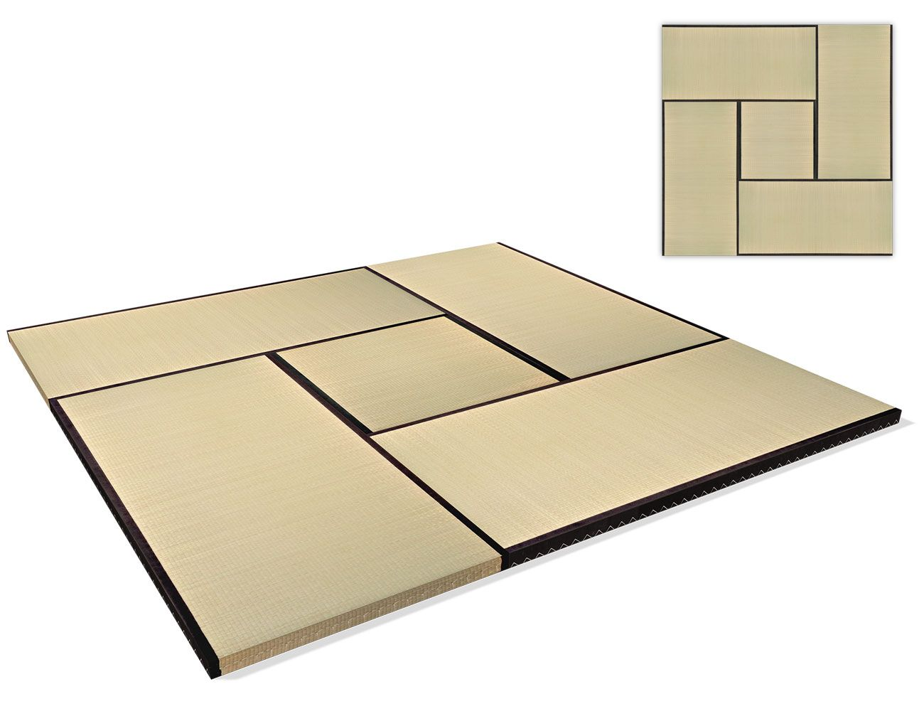 Tatami High Quality Set 270x270 Cm Naturmaterial Sets Wolle Kaufen