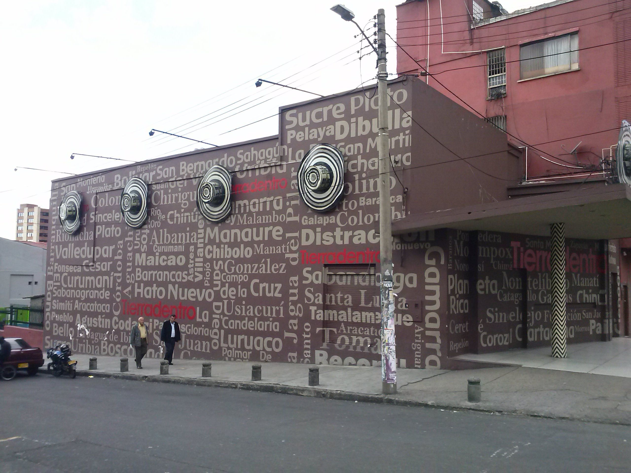 Un rincon del vallenato en Bogota cra 7 con calle 49