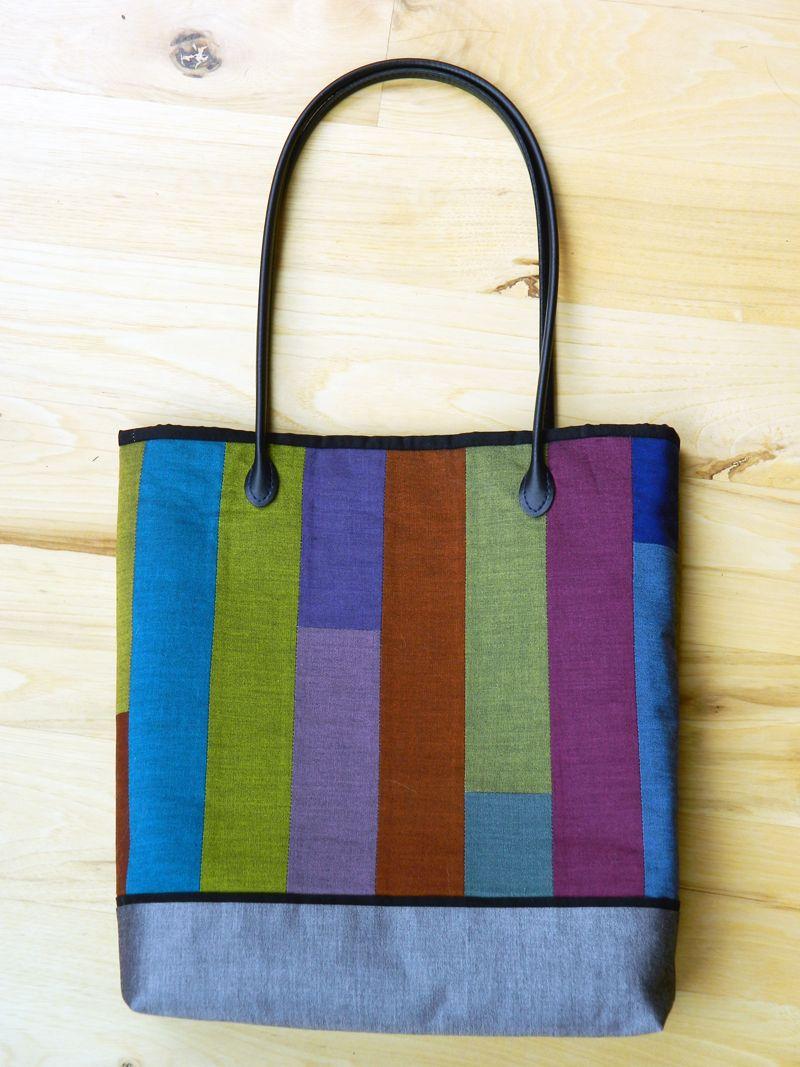Oakshott Lipari Patchwork Tote Challenge + Giveaway ~ Megan from Monkey Beans | Sew Mama Sew |
