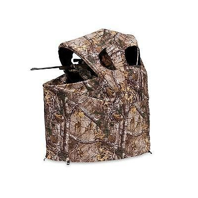 Hunting Ground Blind Tent Folding Chair Realtree Camo Camouflage Cover Outdoor Tent Chair Ground Blinds Hunting Blinds