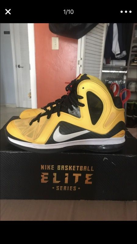 Lebron 9 Taxi Size 11 Vnds Lebron 9 Taxi Sneakers Nike