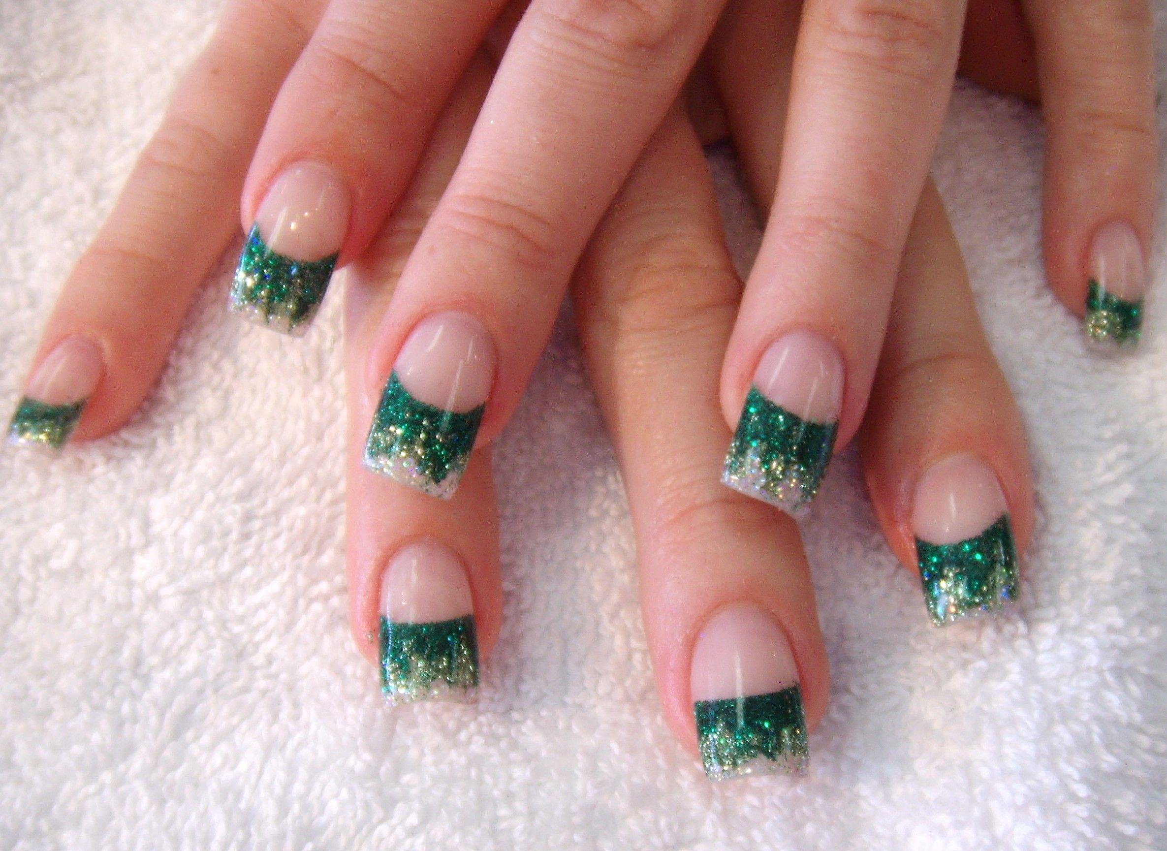 elegant nail art tips and tricks | nail art design gallery, green