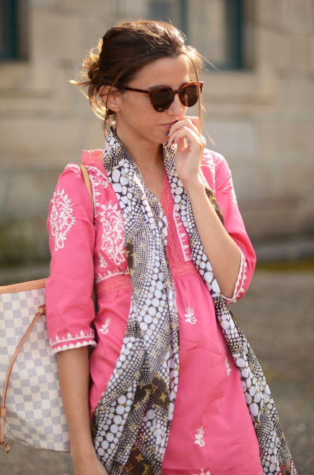pretty pink tunic