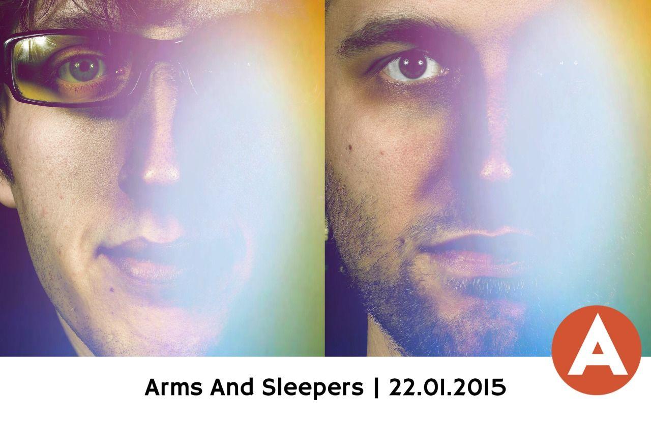 Live in Lugano, Switzerland at Foyer Foce on Thu 22 Jan 2015. #armsandsleepers #livemusic #music #lugano #foyerfoce #foce #switzerland #europe #tour #january #2015