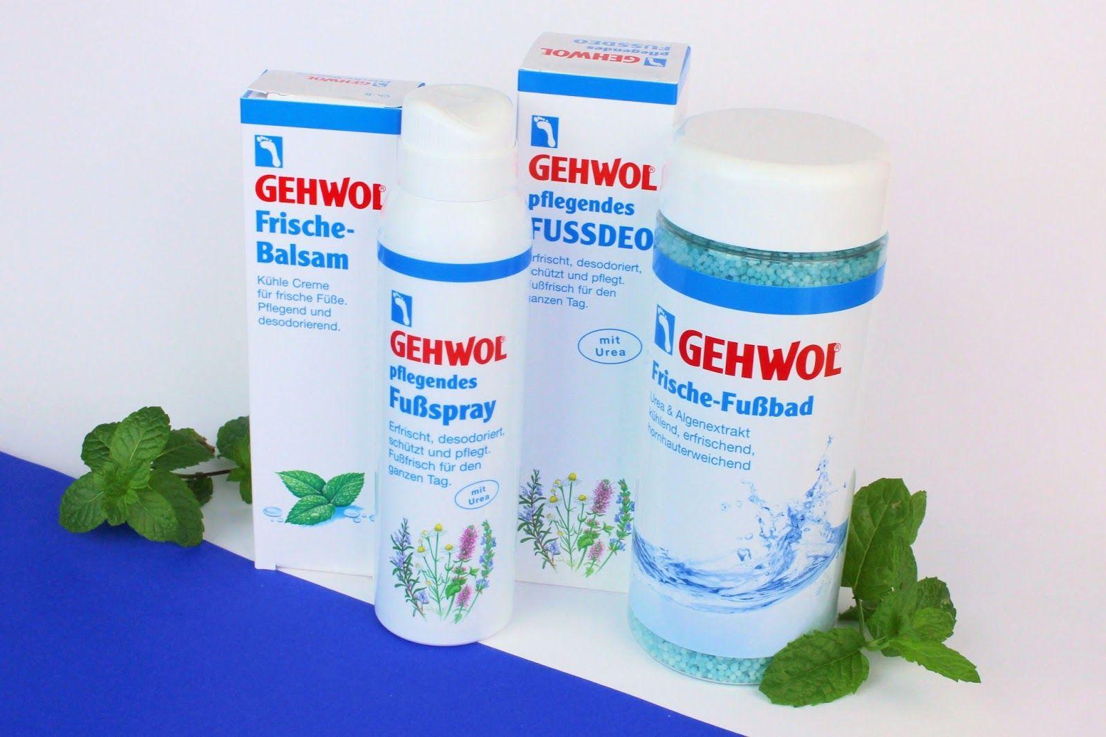 Gehwol: erfrischende Fußpflege für den Sommer! ~ zaphiraw