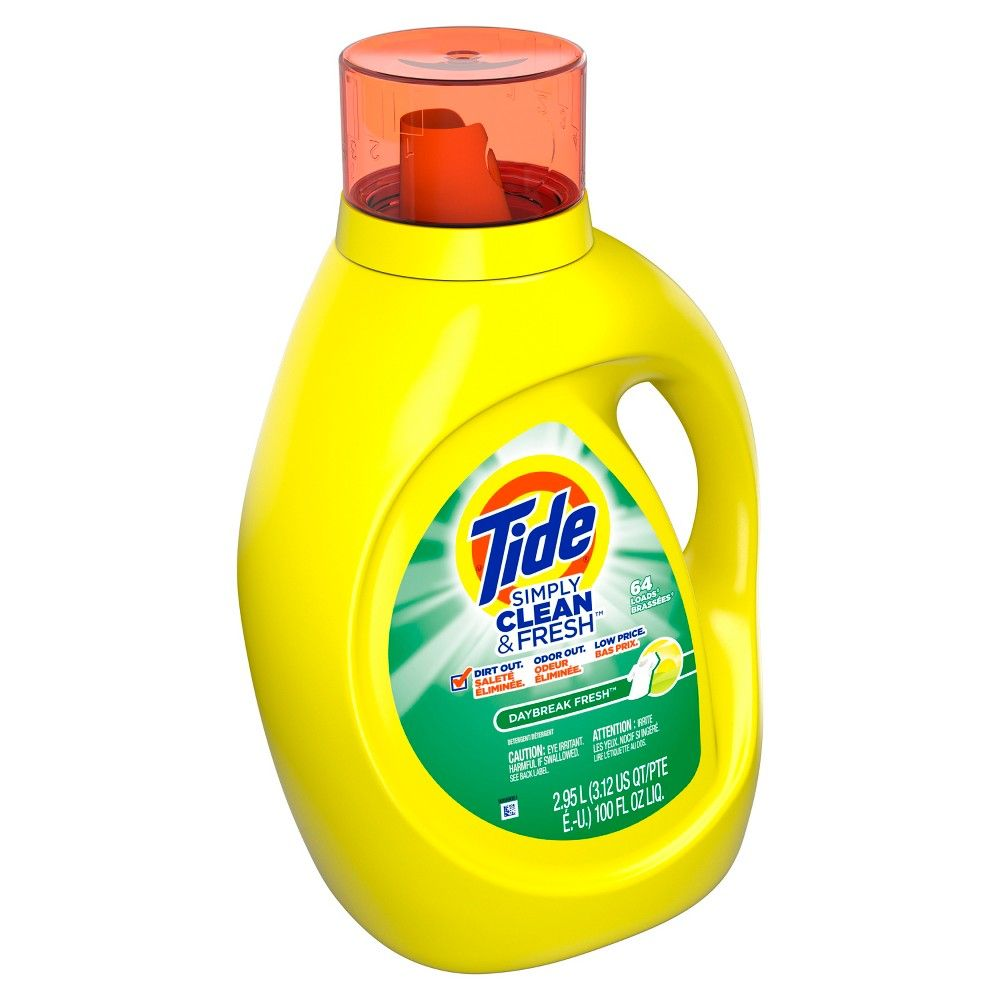 Tide Simply Clean Fresh Daybreak Fresh Scent Liquid Laundry