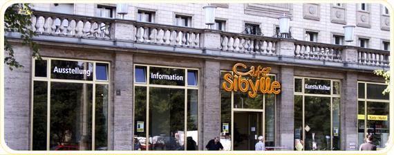Cafe Sibylle Berlin - Aussenbereich