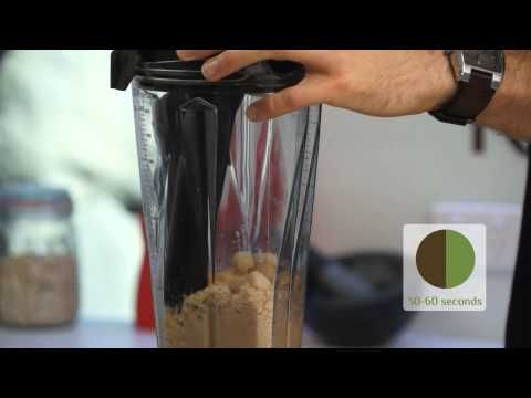 Vitamix Demonstration 7. Nut Butter by Raw Blend