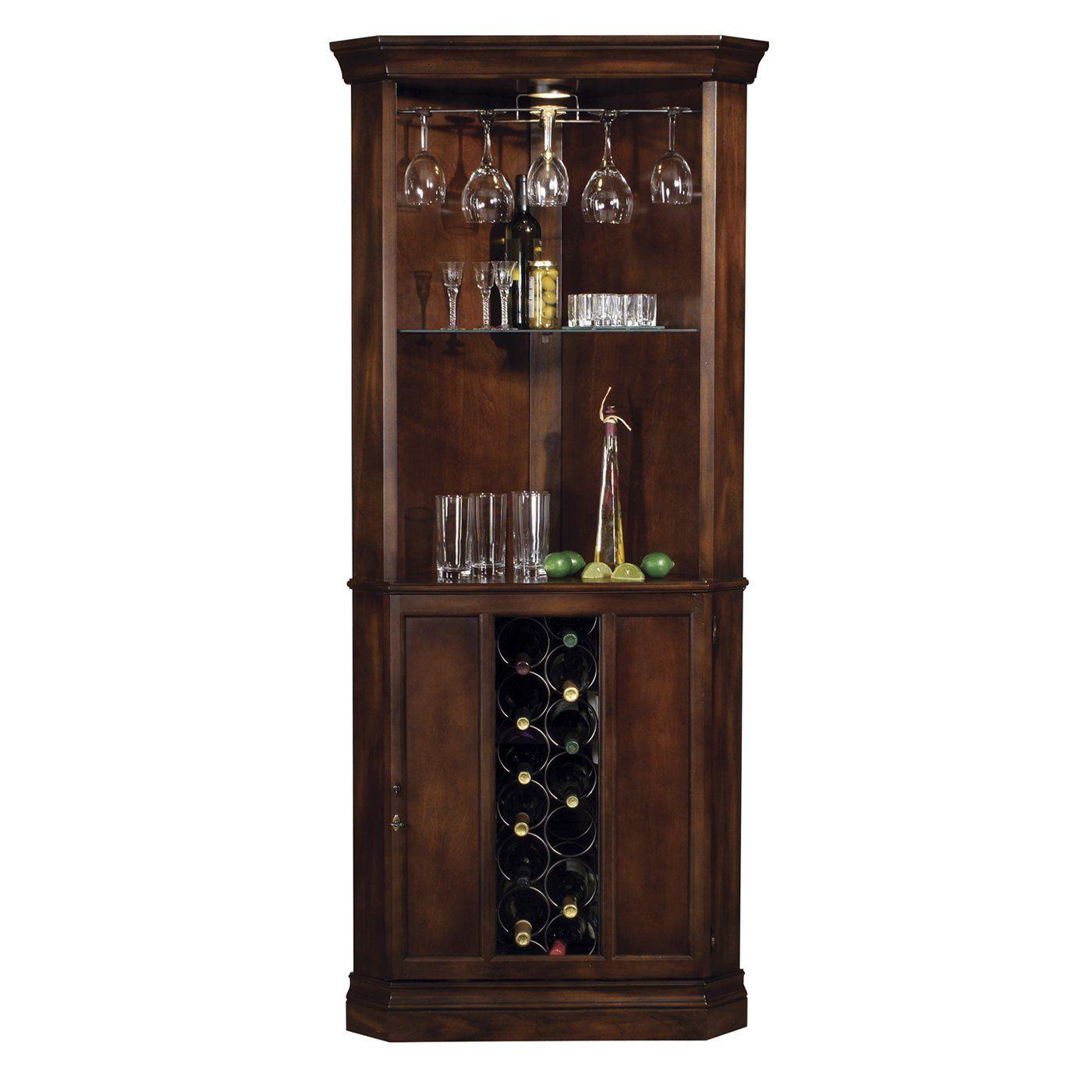 Wine Rack Corner Cabinet