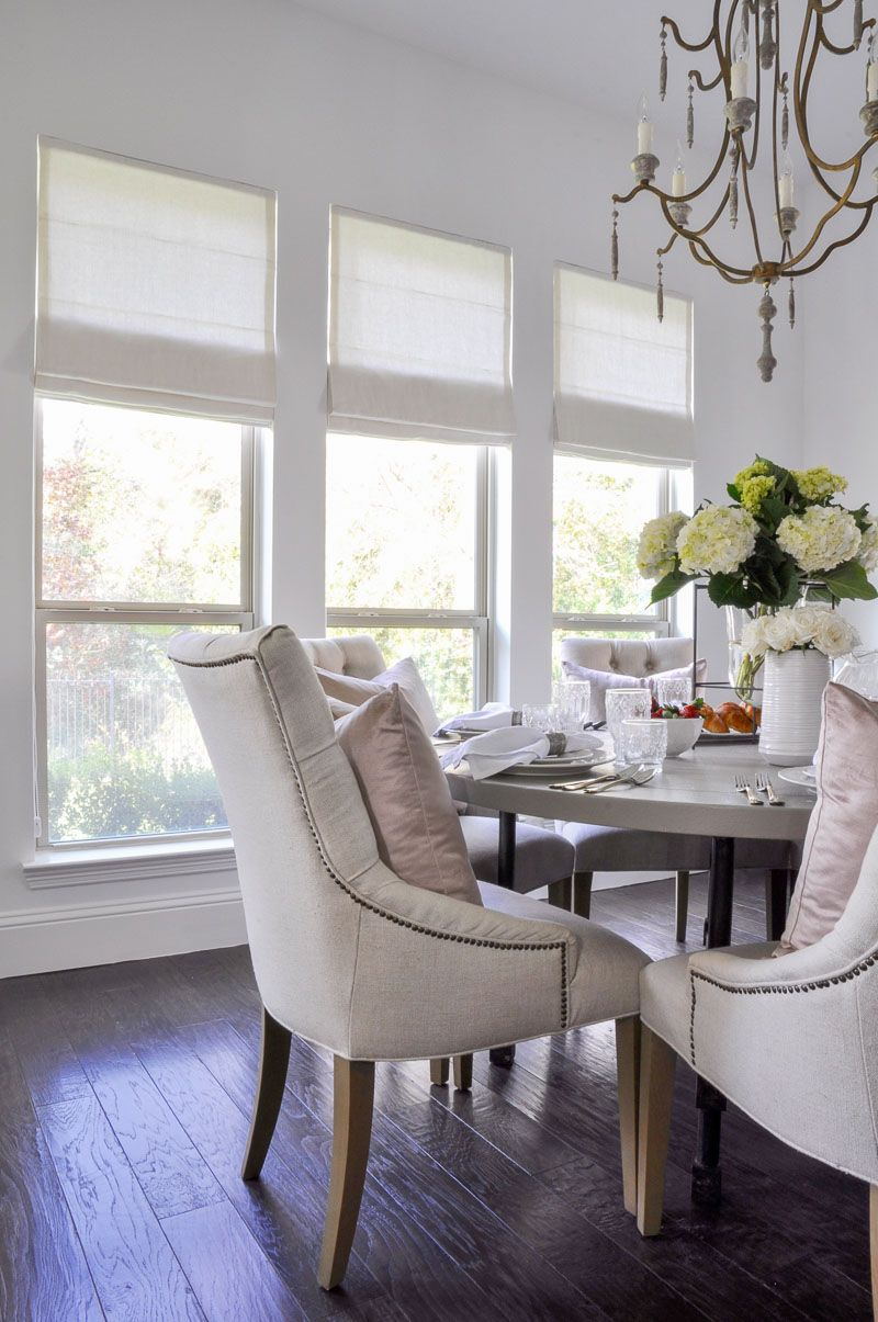 Beautiful New Roman Shades Featuring Decor Gold Designs Roman Shades Living Room Luxury Dining Room Dining Room Design